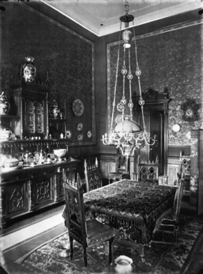 Antecomedor de la casa de Juan Antonio Azurmendi, interior