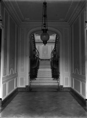 Vestíbulo de la casa de Azurmendi, vista general