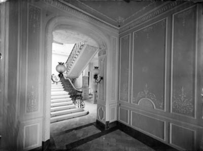 Escaleras de casa en la colonia San Rafael