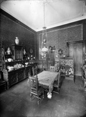 Antecomedor en residencia de colonia San Rafael, interior