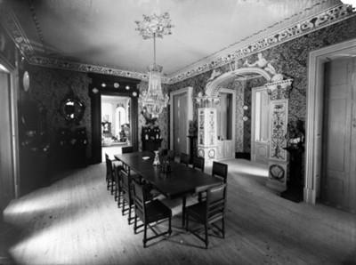 Comedor en mansión en la colonia de San Rafael