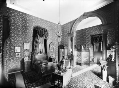 Recámara en la casa de la colonia San Rafael, interior
