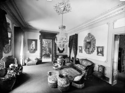 Sala en una casa de la colonia San Rafael, interior