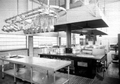 Cocina, vista interior