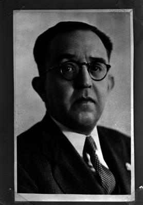 Alfonso Caso, abogado y arqueólogo, retrato