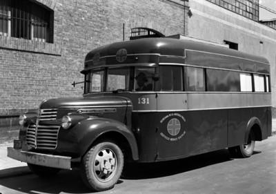 Camión de servicio médico escolar, vista general