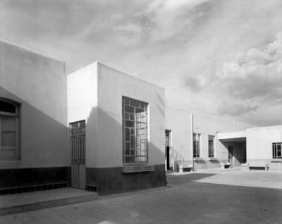 Hospital, fachada lateral