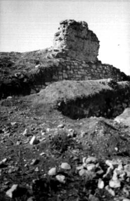 Ruinas del Templo Tláloc, vista