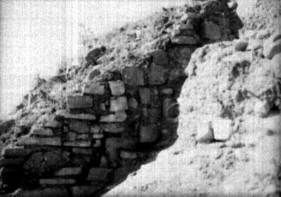 Montículo M, detalle del tablero