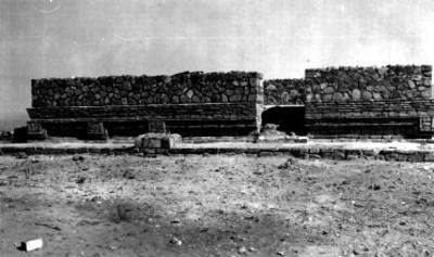 Los Danzantes, Templo del Norte después de la reconstrucción