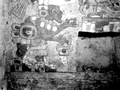 Los frescos de la Tumba 104 muro Sur