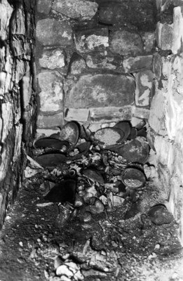 Interior de la Tumba 125