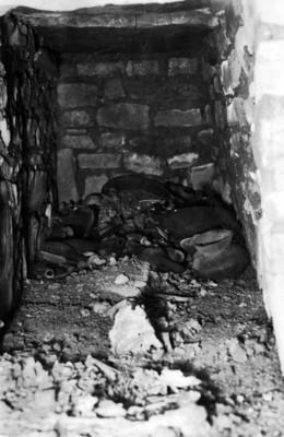 Tumba No. 130, interior antes de la exploración