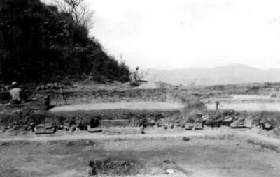 IX Atzompa, Detalle del tablero del W del Patio de los Tableros