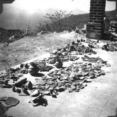 Fragmentos de vasijas prehispánicas