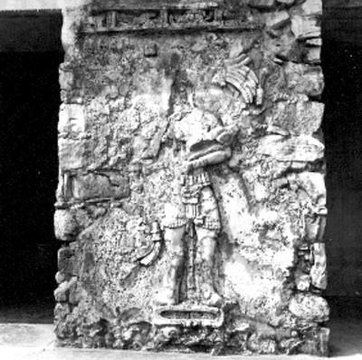 Templo de las Inscripciones Pilastra después de ser intervenido
