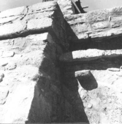 Alfarda del Templo 14 reconstruida, vista parcial