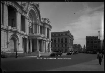 Teatro Nacional y Banco de México