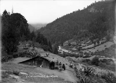 Habitantes en la Cañada de Contreras