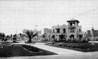 Casas en la colonia Hipódromo, vista parcial