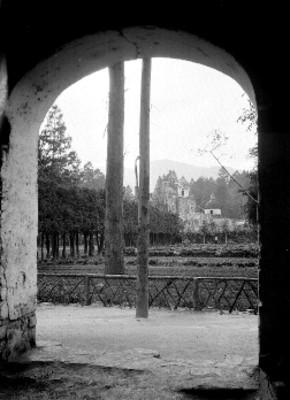 Convento en el Desierto de los Leones, vista parcial