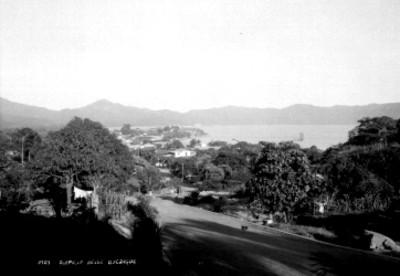 """Puerto de """"Acapulco"""", vista """"desde La Quebrada"""""""