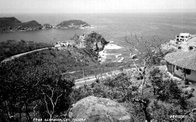 """Bahía de """"Acapulco"""", vista parcial"""