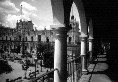 Palacio Municipal, vista parcial
