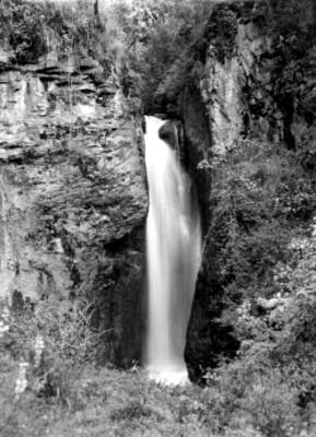 Cascada en Amecameca, paisaje