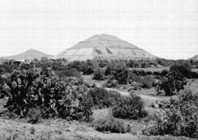 Pirámide del Sol, vista general
