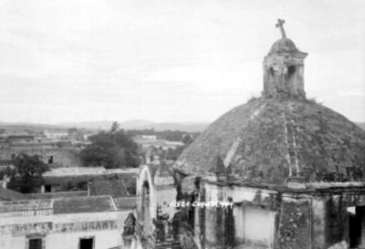 """""""Cuautla"""", vista desde el convento de San Diego"""