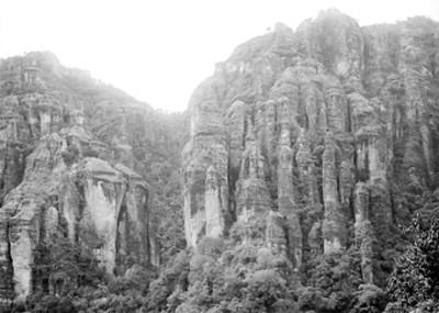 Cerro del Tepozteco, panorámica