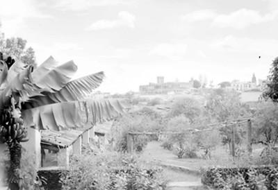 Ciudad de Cuernavaca, vista parcial desde el Rancho Amanalco