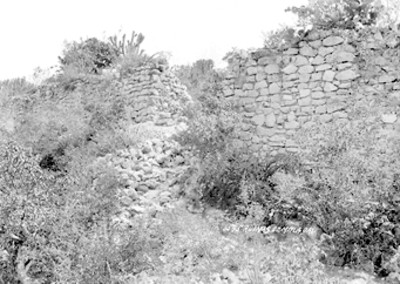 """""""Ruinas de Mitla"""", vista parcial"""