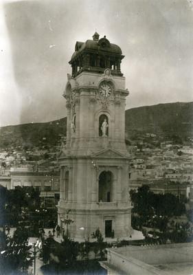 Reloj monumental de Pachuca, panorámica