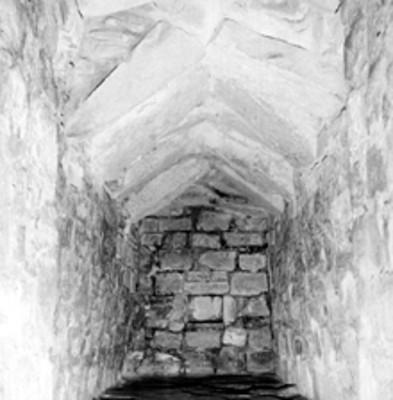 Tumba 4 de Monte Albán, interior