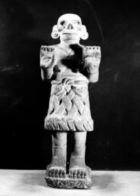 Figura de piedra representando a la muerte