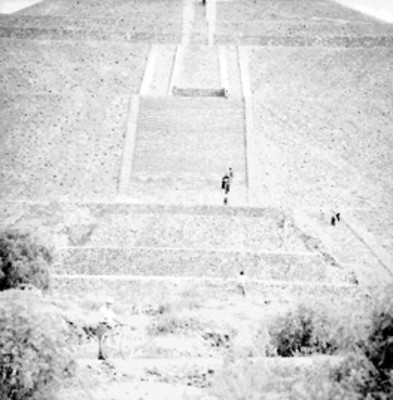 Pirámide del Sol, detalle