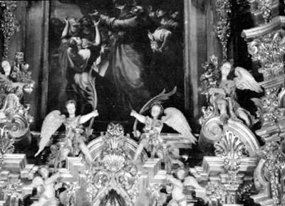 Figuras de ángele, detalle