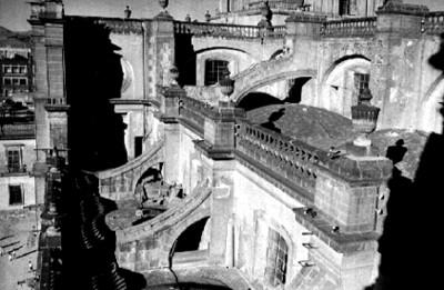 Azotea y balaustradas de la Catedral