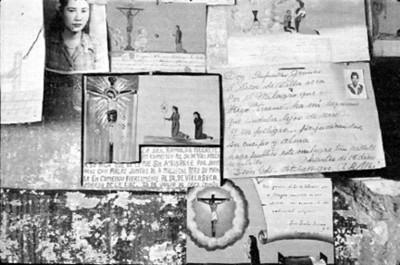 Exvotos al santo de Villaseca