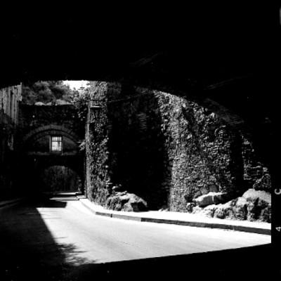 Corredor en la hacienda La Valenciana