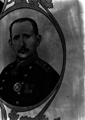 Ramón Corona, general, retrato