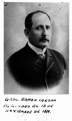 Ramón Corona, gobernador de Jalisco, retrato