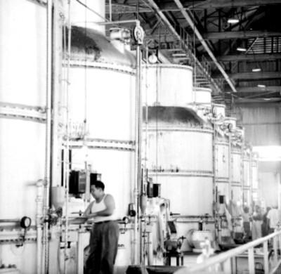 Maquinaria industrial del ingenio Xicoténcatl