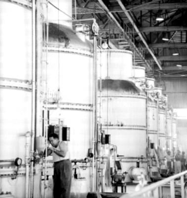 Instalación industrial en el ingenio azucarero de Xicoténcatl