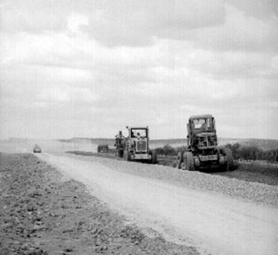Obras en la carretera a Nuevo León