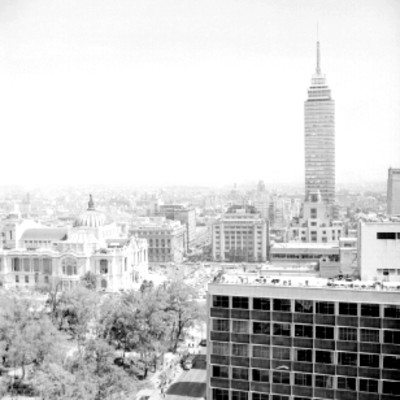 Palacio de Bellas Artes, Torre Latinoamericana y otros edificios de la ciudad de México