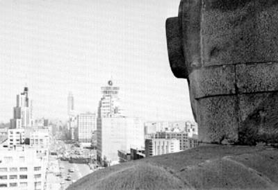 Ciudad de México, vista desde el monumento a la Revolución