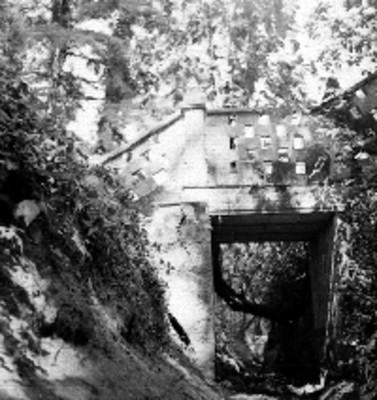 Puente en el racho el Ijiní, vista parcial